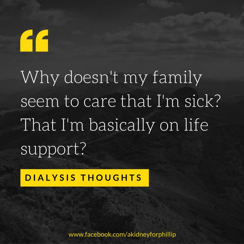 family dialysis thought