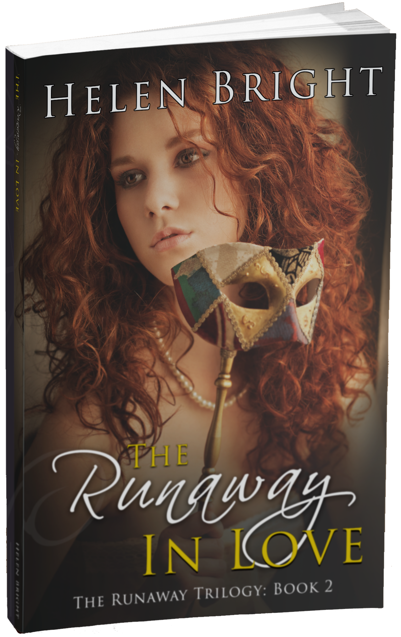 the runaway in love print mockup