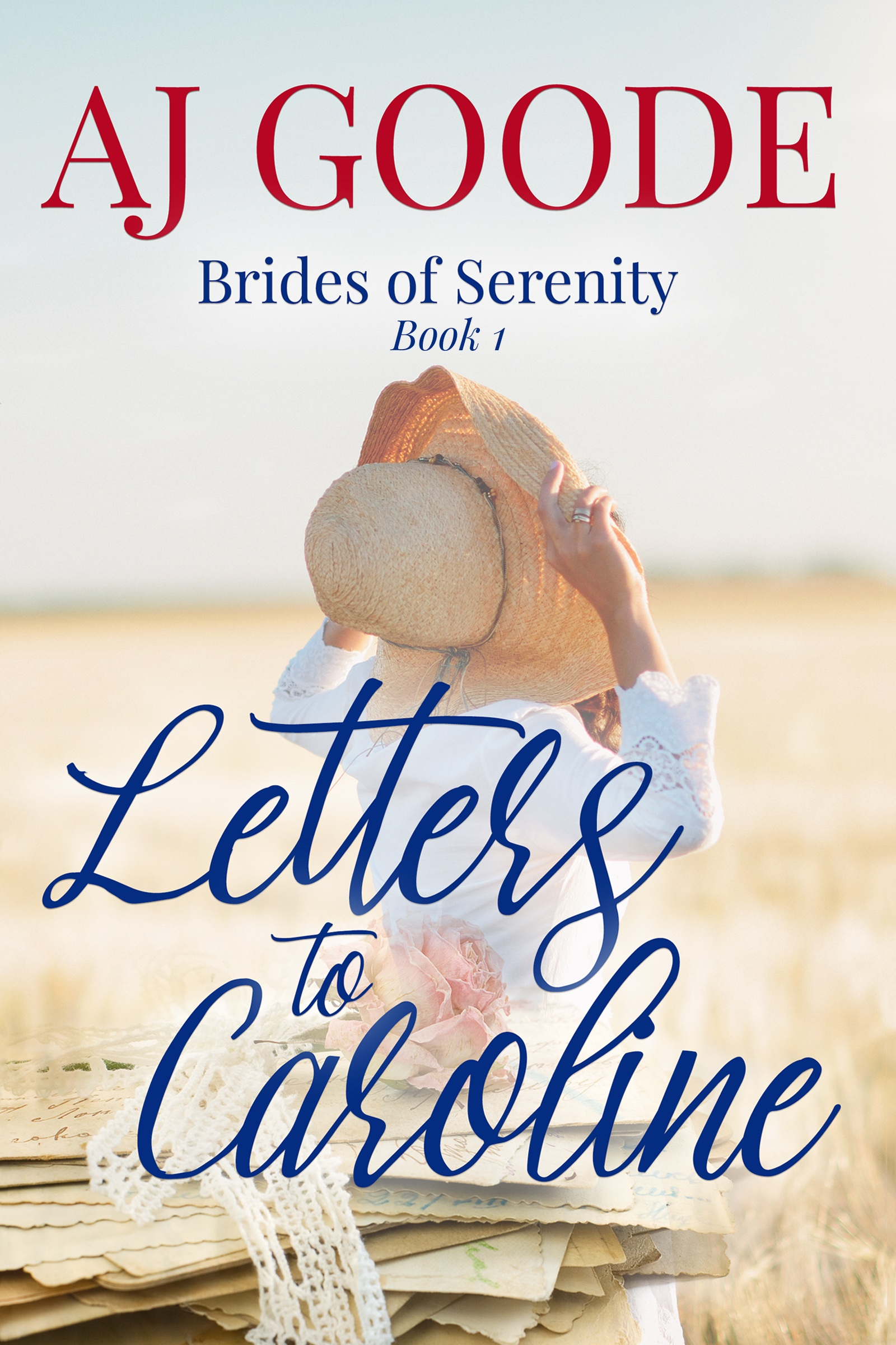 letters to Caroline ebook cover