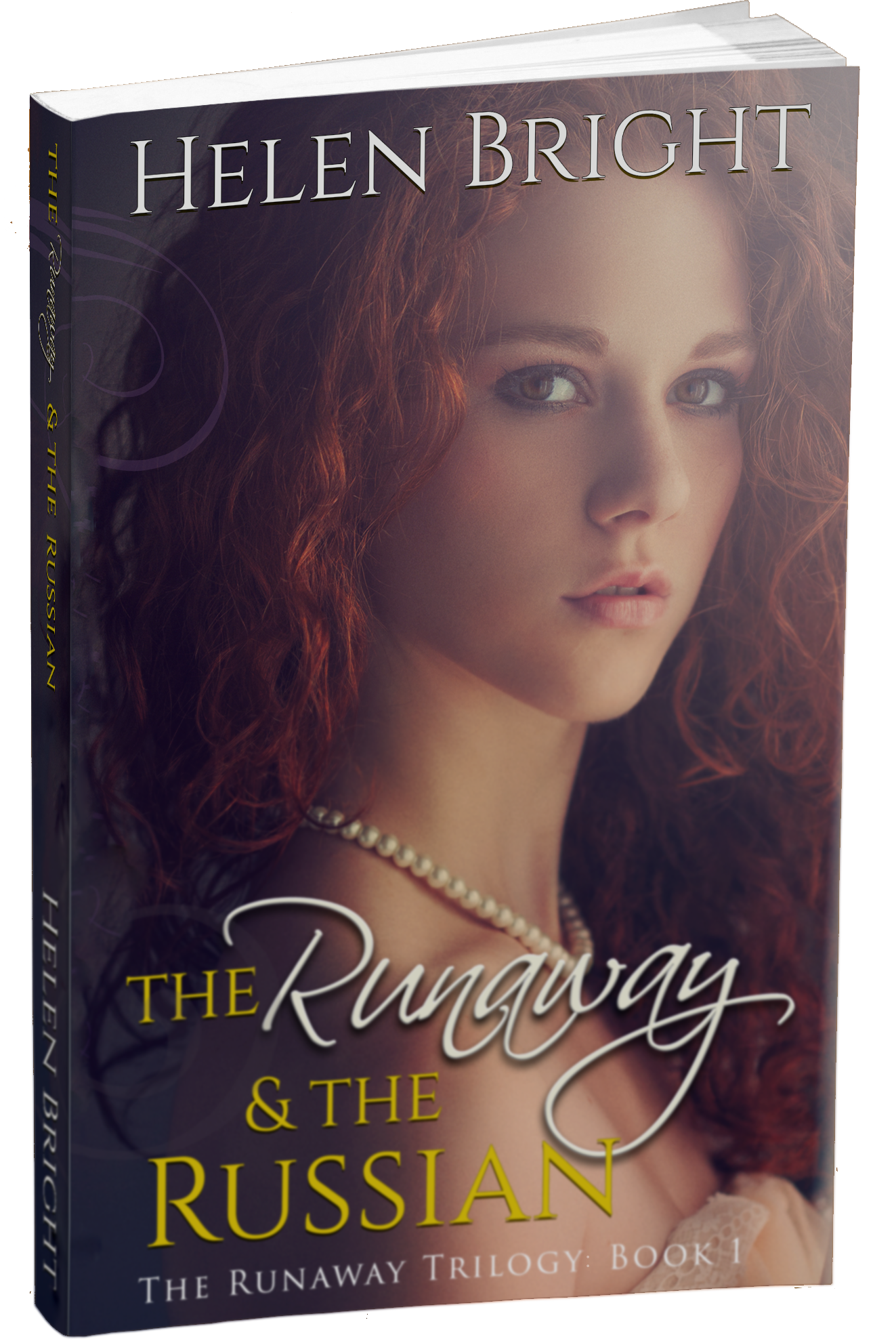 the runaway and the Russian 3d paperback mockup